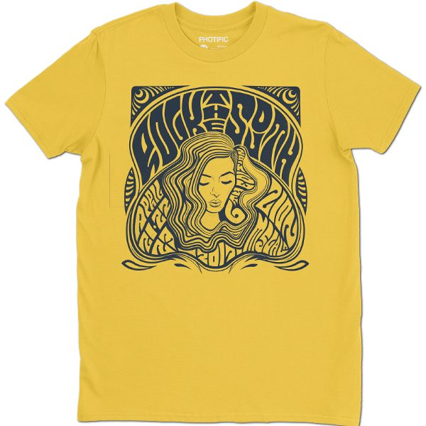 rock the south yellow tee