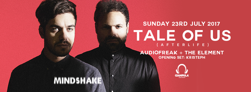 Mindshake presents: Tale Of Us (Day Night Party)