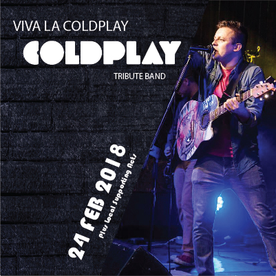 Viva La Coldplay – 24th February – Day 2 Ticket