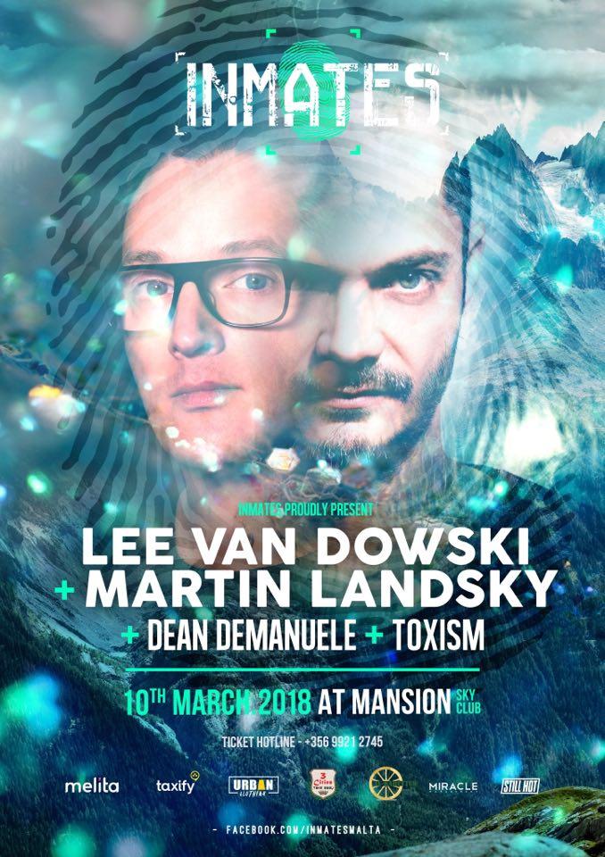 Inmates #017 - l l l Lee Van Dowski + Martin Landsky l l l