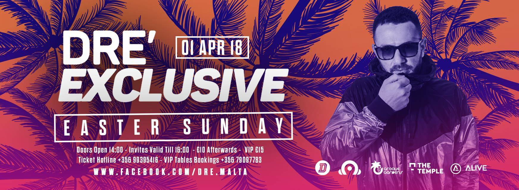 dre exclusive easter sunday