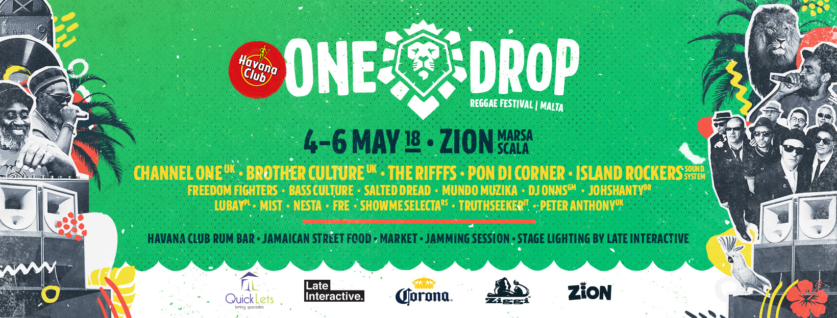 one drop reggae festival 2018 malta