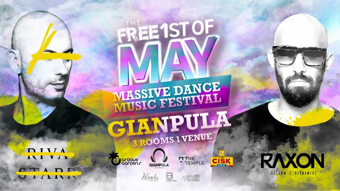 The Free 1st of May Massive Dance Music Festival - VIP [First Release]