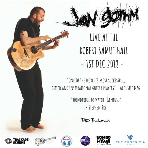 Jon Gomm Live At The Robert Sammut Hall