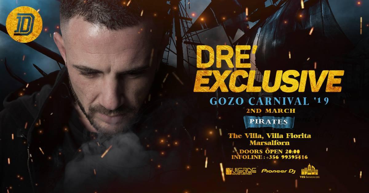 DRE' Exclusive ♢ Gozo Carnival 19