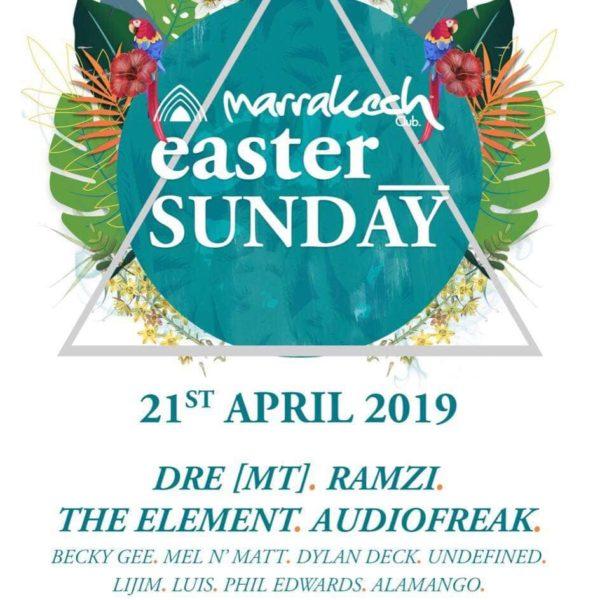 Marrakech Easter Sunday 2019