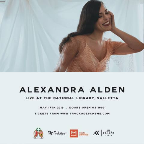 alexandra alden live at the national library of malta
