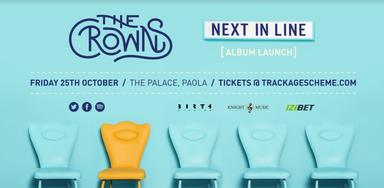 the crowns band malta launch album